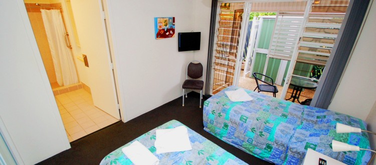 Isla House Greenslopes Interior - Single Bedroom
